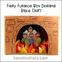 Shadrach, Meshach, and Abednego Bible Crafts