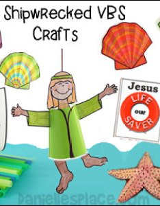 Vbs shipwrecked craft ideas also vacation bible school crafts and activities rh daniellesplace
