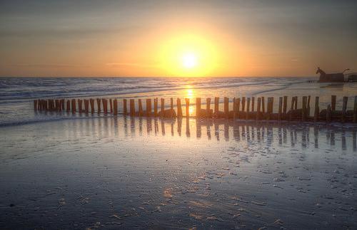 Koud aan de kust