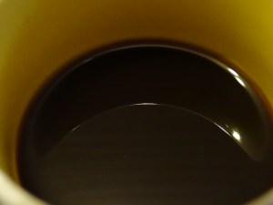 foto van mijn koffie