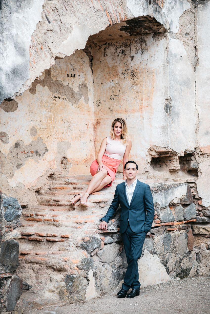 Engagement Portraits La Recoleccion Antigua