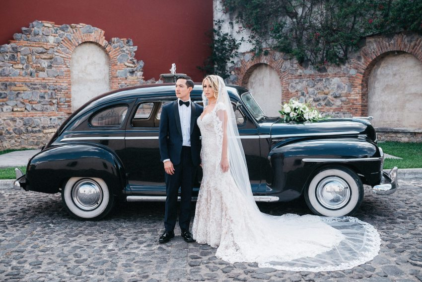 Wedding Classic Car Antigua Guatemala
