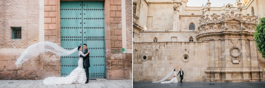 Sesion fotos catedral murcia