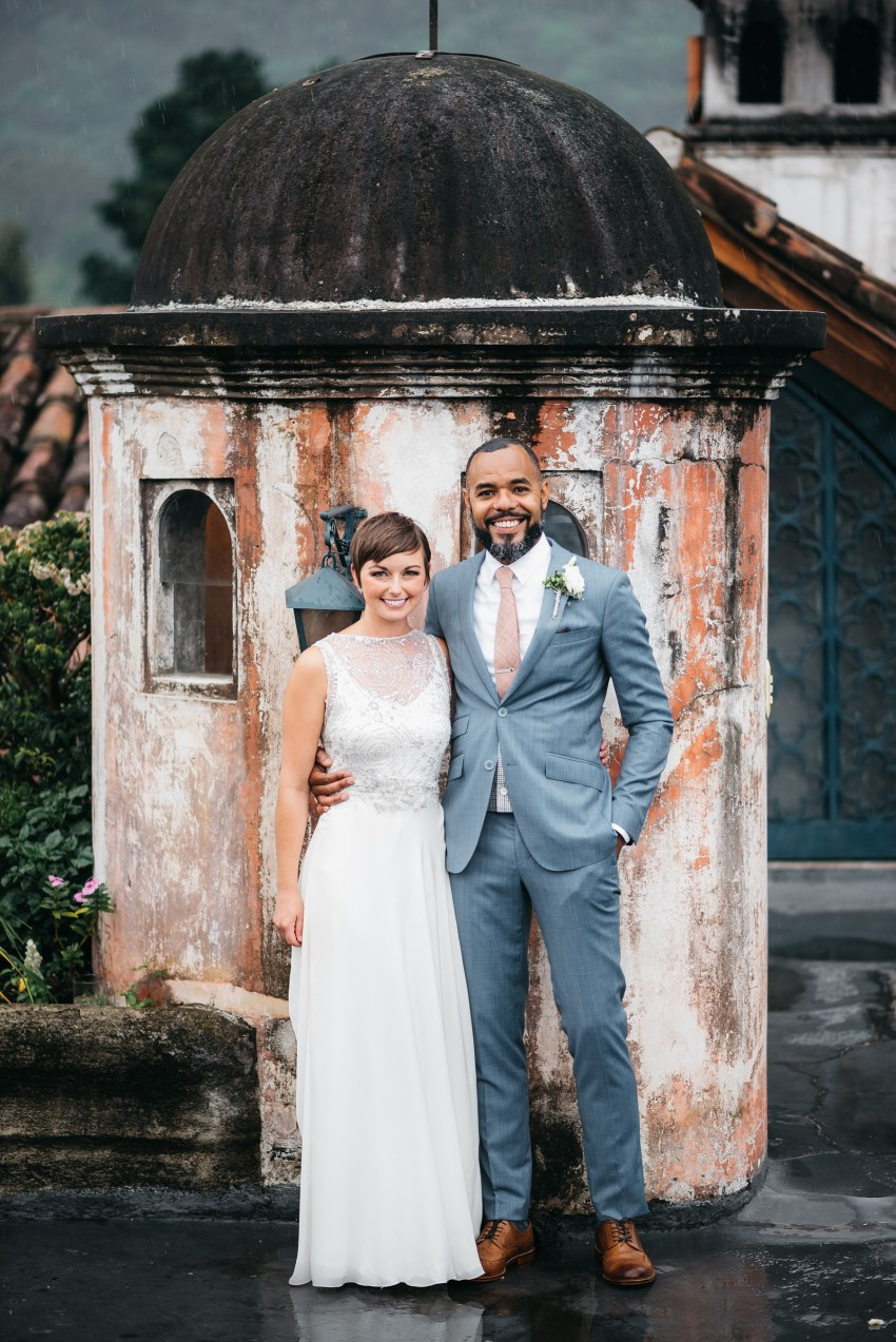 small wedding in antigua guatemala
