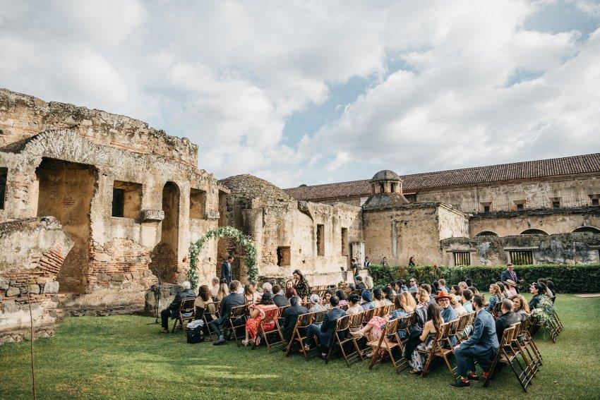 Ceremonia de Boda en Convento Capuchinas Antigua
