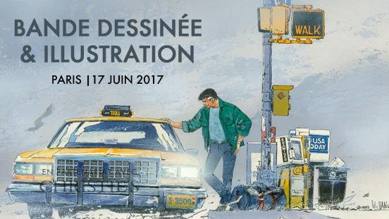 Vente Bande dessinée et Illustration, le 17 juin 2017