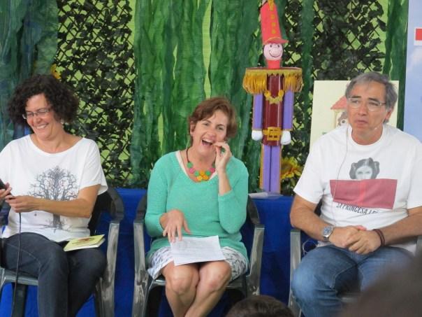 Presentación «Isla a isla. Cuento a cuento», con Verónica García, Sandra Franco y Daniel Martín.