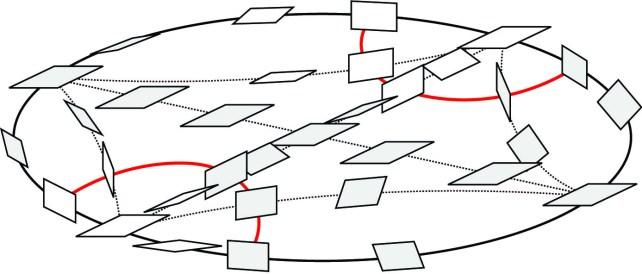 A convex disc.