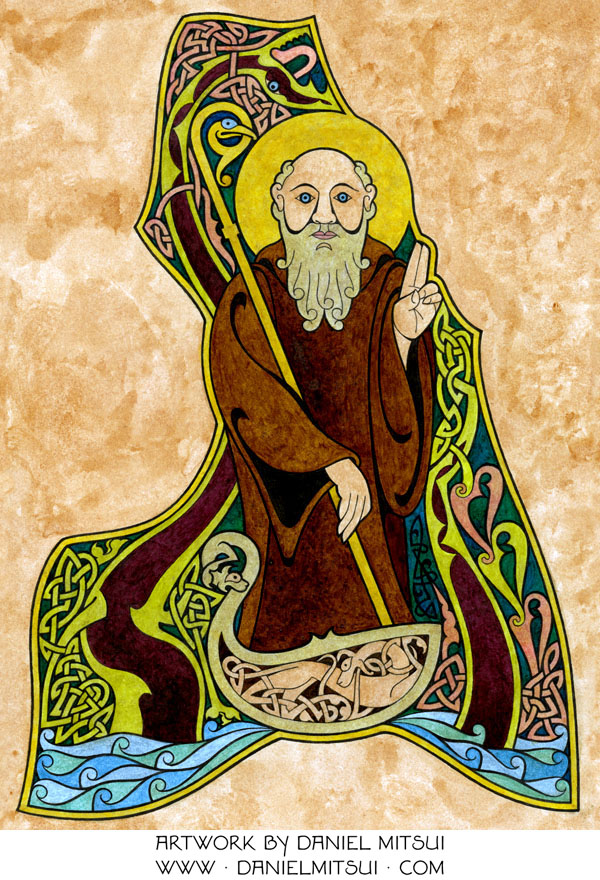 Image result for st columba of iona