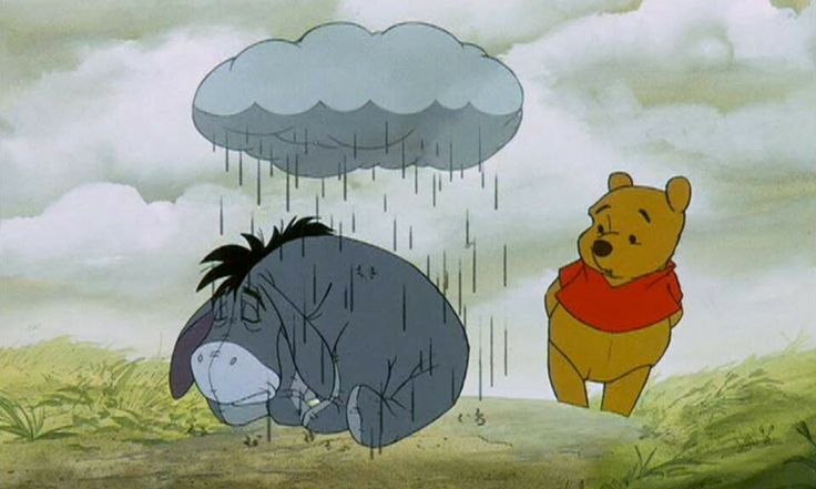 Image result for eeyore cloud