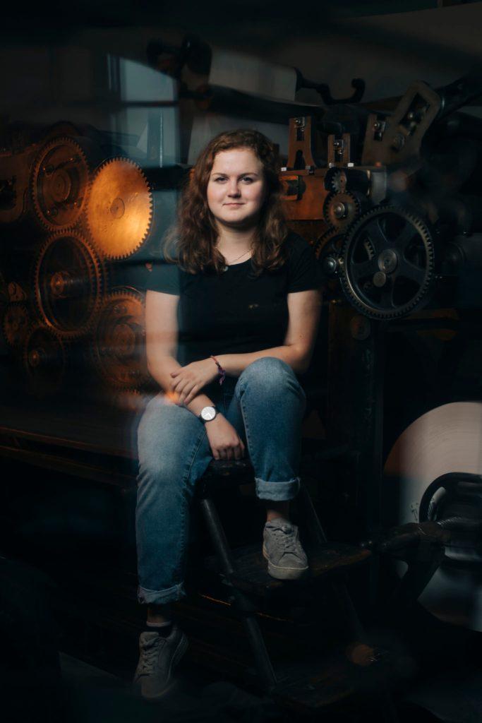 Jennifer Schlegel, ehemalige FSJlerin Museum der Arbeit (out of office.) In Zusammenarbeit mit RAFAEL HEYGSTER