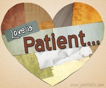 Cinta itu sabar