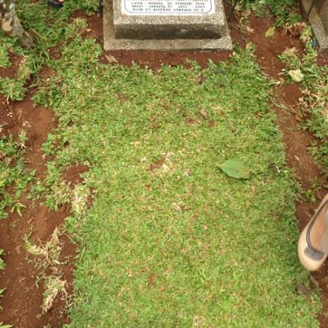 Suasana kuburan Tulang Jio