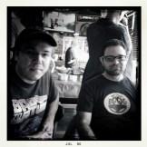Me and supervising animator Renato dos Sanjos