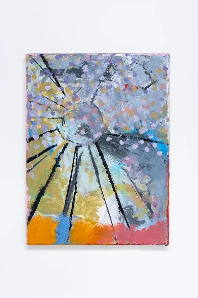 Crop Rotation XLVIII, 2020, oil on canvas, 40 x 30 cm. Copyright Daniel Pettitt.