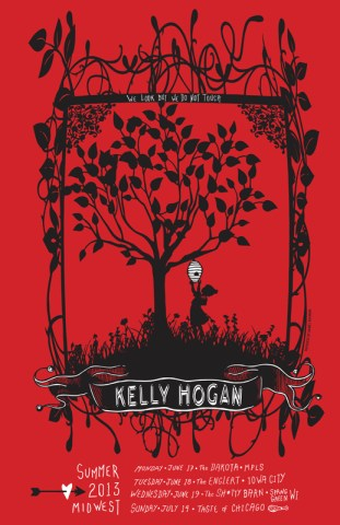 Kelly Hogan 2013 Midwest Tour