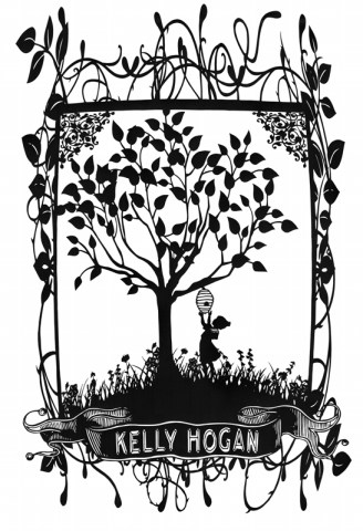 Kelly Hogan papercut
