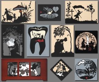 Art Bar 'tiny art' Show