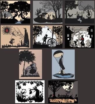 Fall 2014 postcards