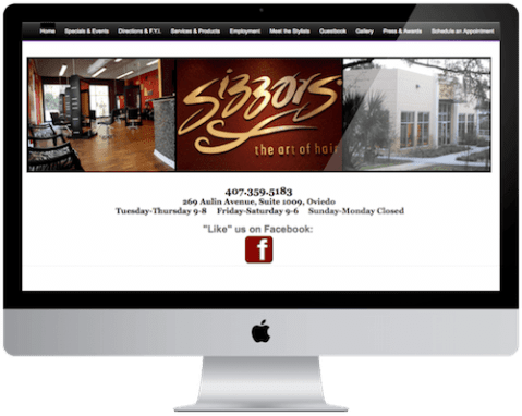 SEO Best Practices Project: Sizzors Salon, Oviedo