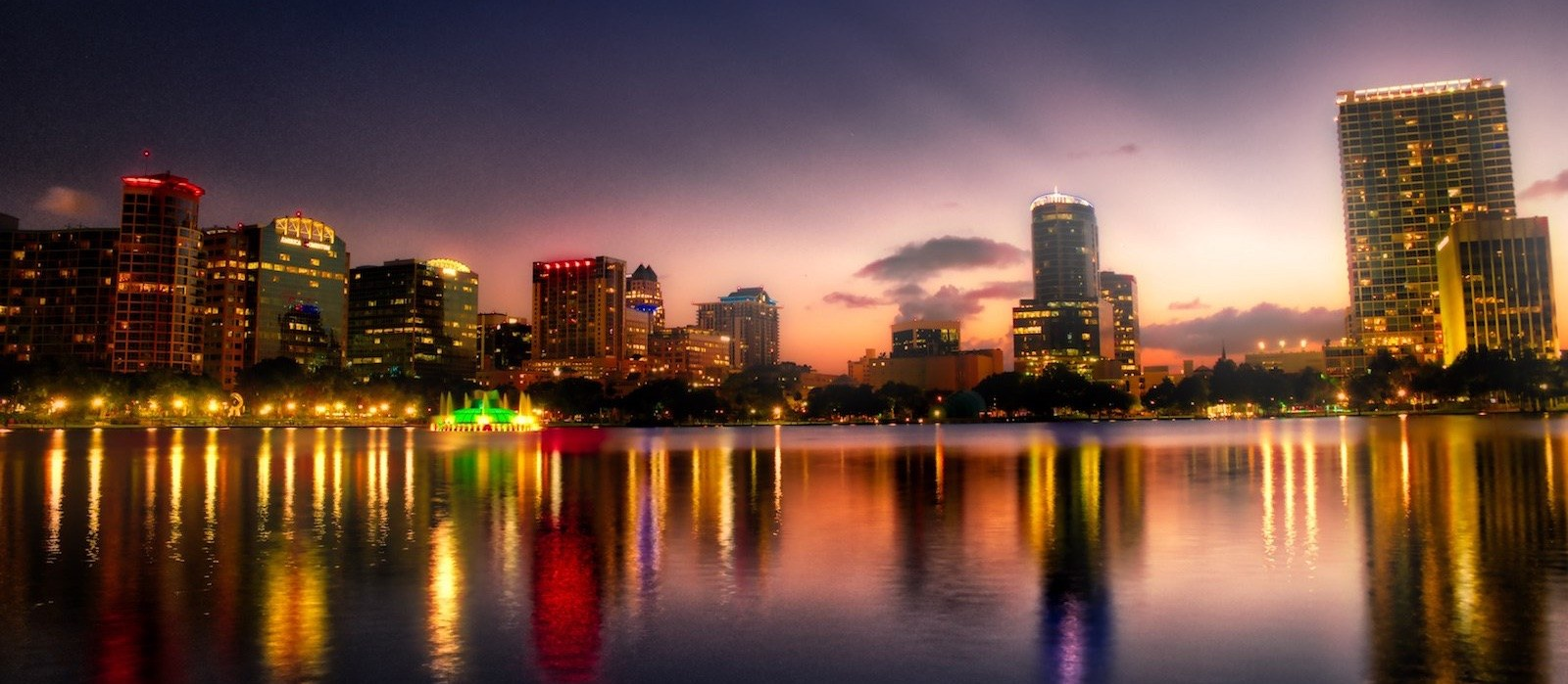 Downtown Orlando in HDR Copyright Daniel Ruyter 2016