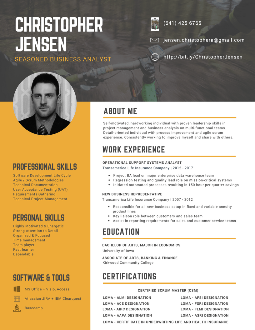 custom professional resume design services orlando sitecore