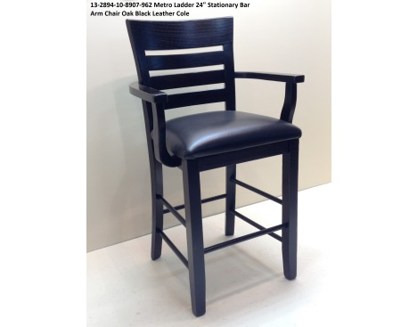 counter height arm chairs coleman rocking chair idea gallery stationary metro ladder 24