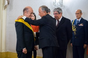 Condecoração da Grã-Cruz da Ordem da Instrução Pública pelo Presidente Marcelo Rebelo de Sousa
