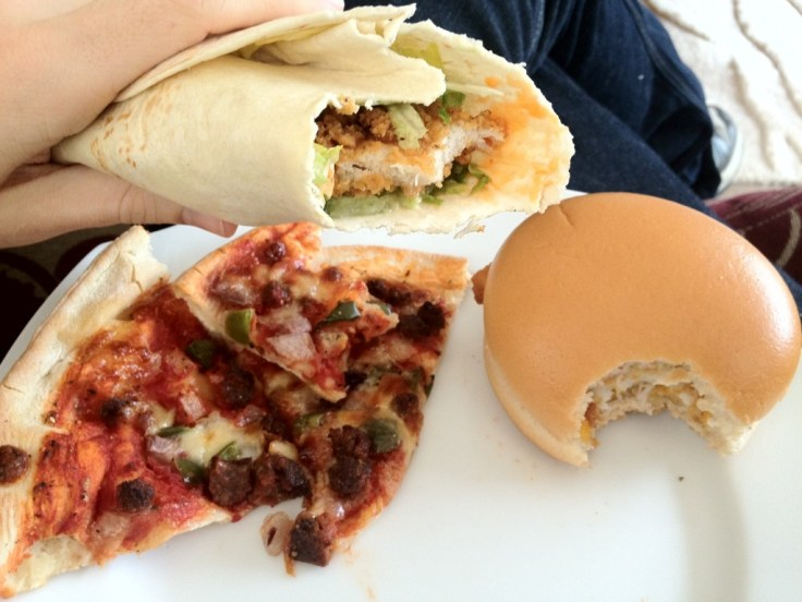@northern_brief what about mine? Pizza Express, Sweet Chilli Chicken Wrap and Fillet-o-Fish.