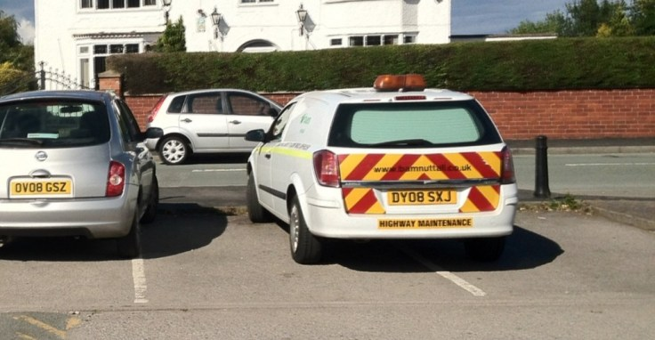 Two fantastic park jobs together. I hope highway maintence doesn't paint the white lines as he obviously can't see them