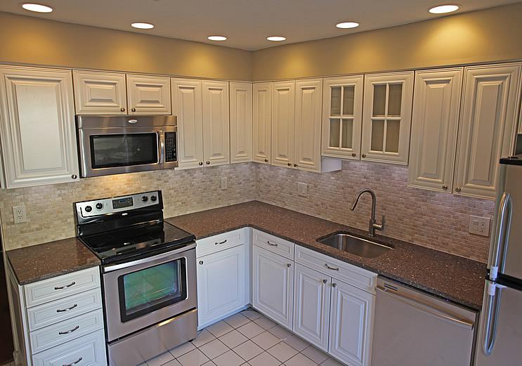 cheap kitchen remodels types of countertops diy tile backsplash remodeling ideas design bev s remodel