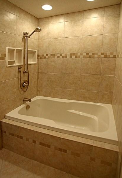 small bathroom shower tub tile ideas Bathroom Remodeling Design DIY Information Pictures Photos