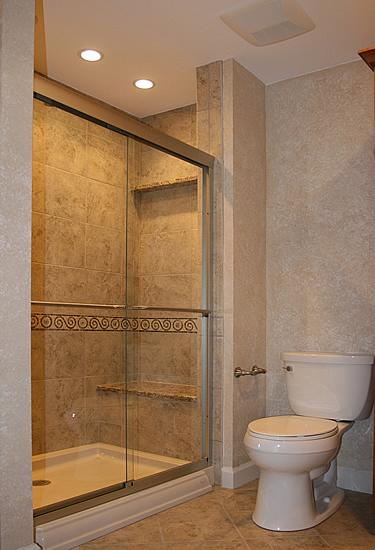 tiny bathroom remodel idea Bathroom Remodeling DIY Information Pictures Photos Ceramic Niches Shower Shelves Kitchen