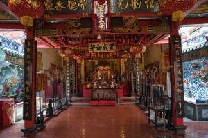 Buddhist temple in Kuching