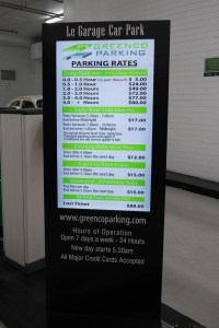 Pricy Parking in Melbourne
