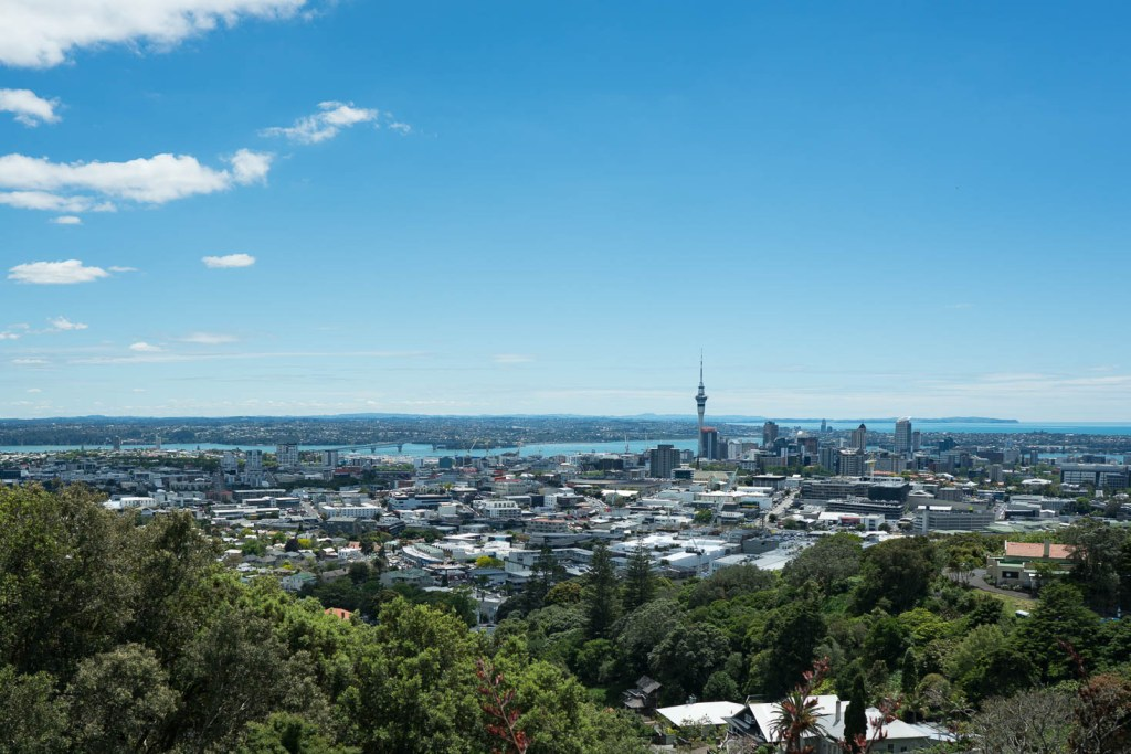 Mt. Eden in Auckland