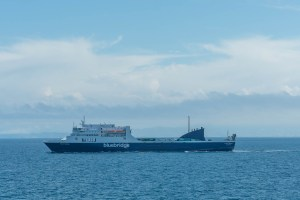 Sister Ferry at Cook Strait
