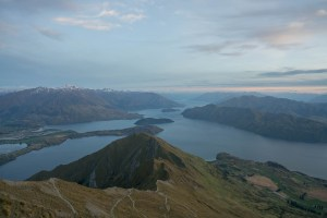 View towards West from Roys Peak