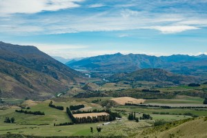 On the road to Queenstown