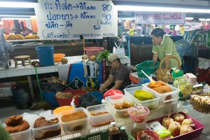 Different Curry Pastes at Chiang Mai Market