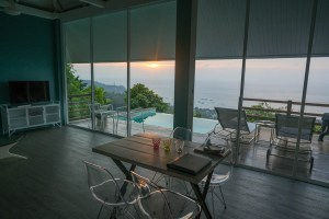 Living Room View in Koh Tao