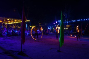 Fire Games on Koh Tao