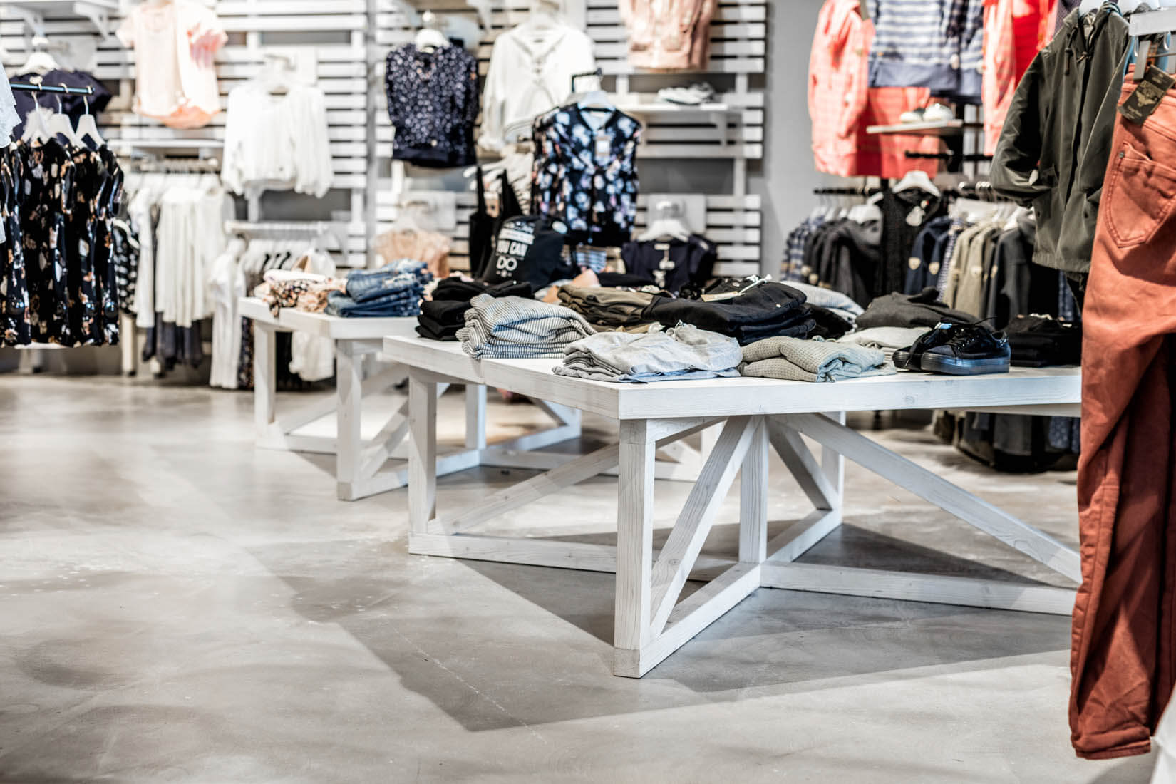 Innenaufnahmen  KULT Store  Sdpark Klagenfurt