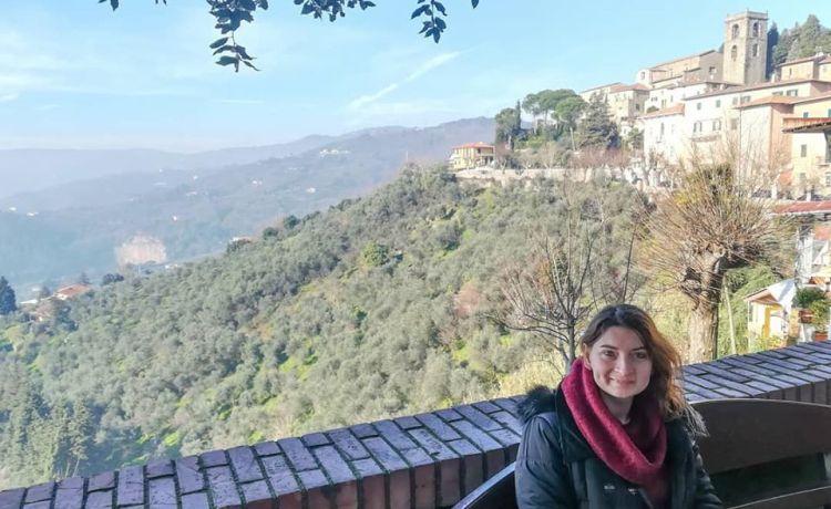 Pogled iz Montekatini Alto