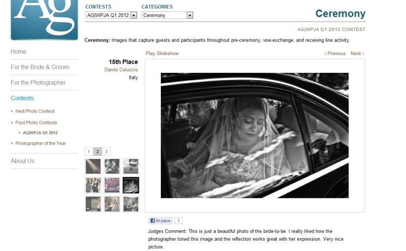Contest AG|WPJA Q1 2012