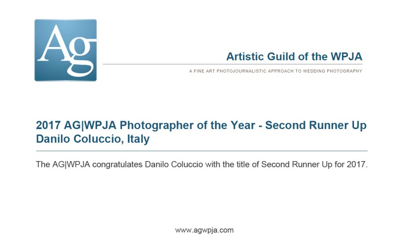 AG|WPJA PHOTOGRAPHER OF THE YEAR | SECOND RUNNER UP