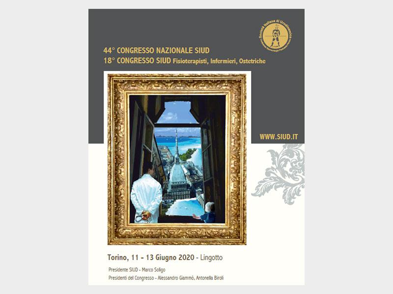 44° Congresso Nazionale SIUD 2020. Torino, 11-13 Giugno 2020