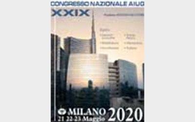 XXIX Congresso Nazionale AIUG. Milano, 21-23 Maggio 2020