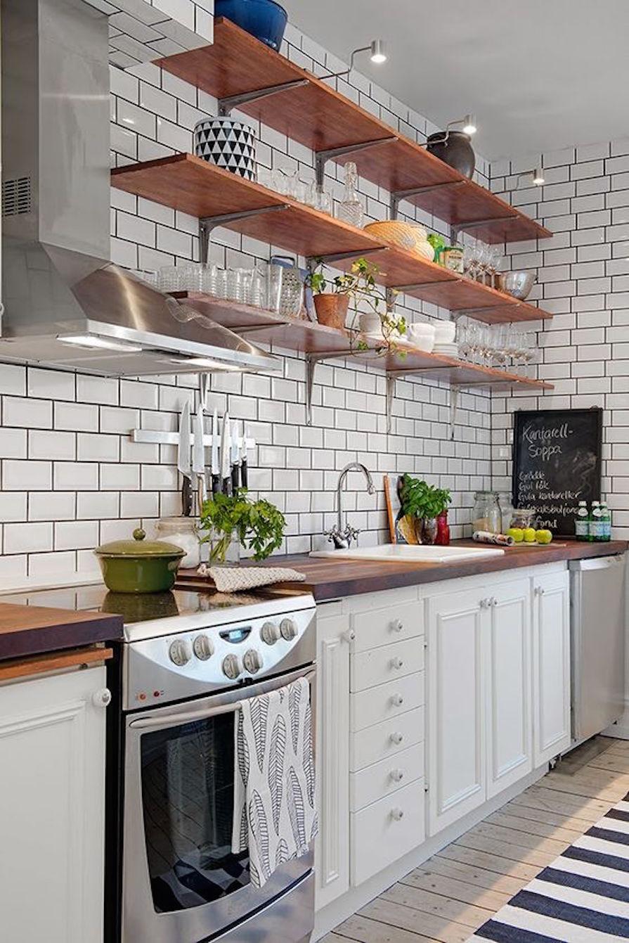 Subway Tiles na Cozinha  Danielle Noce