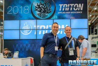 Ehsan Dashti di Triton con DaniReef